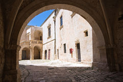 Ducal castle. Ceglie Messapica. Puglia. Italy. Stock Photo