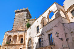Ducal castle. Ceglie Messapica. Puglia. Italy. Stock Photos