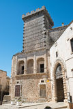 Ducal castle. Ceglie Messapica. Puglia. Italy. Royalty Free Stock Photo