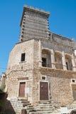 Ducal castle. Ceglie Messapica. Puglia. Italy. Royalty Free Stock Image