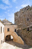 Ducal castle. Ceglie Messapica. Puglia. Italy. Royalty Free Stock Photos