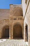 Ducal castle. Ceglie Messapica. Puglia. Italy. Royalty Free Stock Photo
