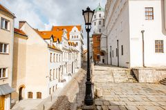 Ducal castle in Szczecin Stock Photography