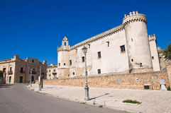 Ducal Castle of Torremaggiore. Puglia. Italy. Stock Images