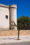 Ducal Castle of Torremaggiore. Puglia. Italy. Stock Photo