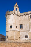 Ducal Castle of Torremaggiore. Puglia. Italy. Royalty Free Stock Images
