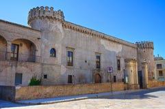 Ducal Castle of Torremaggiore. Puglia. Italy. Stock Images