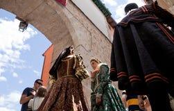 Ducal Festival of Pastrana Royalty Free Stock Photo