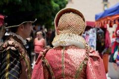 Ducal Festival of Pastrana Stock Image
