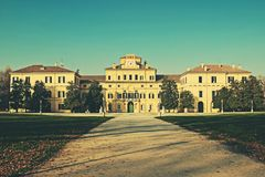 Ducal garden`s palace in Parma, Italy. Royalty Free Stock Photos