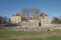 Ducal pałac w Saganie. Zdjęcia Stock