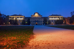 Ducal Palace. Parma, Italy - Emilia-Romagna region. Ducal Palace at night Royalty Free Stock Image