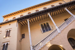 Ducal Palace Borgia in Gandia, Costa Blanca,Spain Royalty Free Stock Photos
