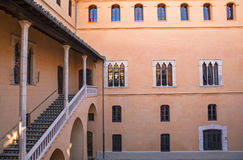 Ducal Palace Borgia in Gandia, Costa Blanca,Spain Stock Photos