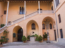Ducal Palace Borgia in Gandia, Costa Blanca,Spain Stock Photography