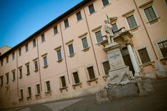 The Ducal Palace in Carrara Stock Image