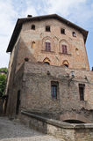 Ducal Palace. Castell'arquato. Emilia-Romagna. Royalty Free Stock Photos