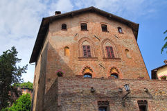 Ducal palace. Castell'Arquato. Emilia-Romagna. Italy. Stock Photography