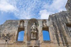 Ducal palace of Castromediano-Limburg. Cavallino. Puglia. Italy. Stock Image