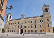 Ducal Palace of Colorno. Emilia-Romagna. Italy. Perspective of Ducal Palace of Colorno. Emilia-Romagna. Italy Royalty Free Stock Photography