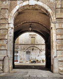 Ducal Palace. Giovinazzo. Apulia. Stock Photography