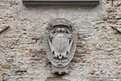 Ducal Palace in Gubbio, Umbria - Details Stock Photography