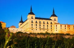 Ducal palace at Lerma in Lerma. Province of Burgos. Spain Royalty Free Stock Photography