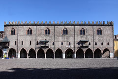 Ducal palace mantova Royalty Free Stock Photography