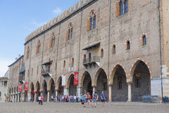 Ducal Palace in Mantua Stock Photography