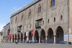 Ducal Palace in Mantua Royalty Free Stock Images
