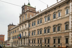 Ducal Palace of Modena, Italy. The Ducal Palace of Modena is a Baroque palace in Modena, Italy. It was the residence of the Este Dukes of Modena between 1452 and royalty free stock photography
