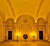 Ducal Palace of Modena in Modena, Italy stock images