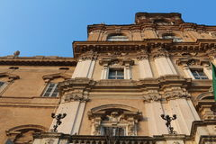 Ducal palace, modena, italy. Original photo military academy modena, italy stock image