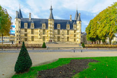 Ducal Palace in Nevers Stock Photos