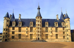 Ducal palace in Nevers Royalty Free Stock Image