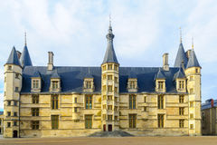 Ducal Palace in Nevers. View of the Ducal Palace in Nevers, Burgundy, France Stock Image