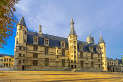 Ducal Palace in Nevers. View of the Ducal Palace in Nevers, Burgundy, France Royalty Free Stock Photos