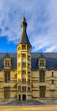 Ducal Palace in Nevers. View of the Ducal Palace facade in Nevers, Burgundy, France Royalty Free Stock Photo