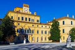 Ducal palace in Parma. Italy Royalty Free Stock Image