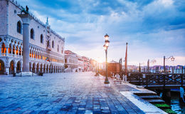 Ducal Palace on Piazza San Marco Venice Royalty Free Stock Images