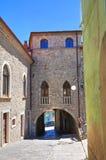 Ducal Palace. Pietragalla. Basilicata. Italy. Royalty Free Stock Photo