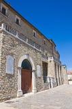 Ducal Palace. Pietragalla. Basilicata. Italy. Stock Photo