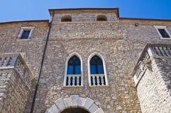 Ducal Palace. Pietragalla. Basilicata. Italy. Stock Photos