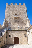 Ducal Palace. Pietramontecorvino. Puglia. Italy. Royalty Free Stock Images