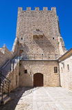 Ducal Palace. Pietramontecorvino. Puglia. Italy. Stock Photography