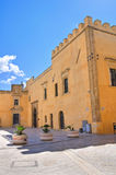 Ducal palace. Presicce. Puglia. Italy. Royalty Free Stock Photos