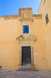 Ducal palace. Presicce. Puglia. Italy. Stock Photography