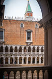 Ducal palace in the serenisima Venice. Ducal palace in the Serenisima city of Venice Stock Image