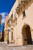 Ducal palace. Taurisano. Puglia. Italy. Stock Photos
