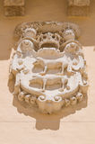 Ducal palace. Taurisano. Puglia. Italy. Royalty Free Stock Photos